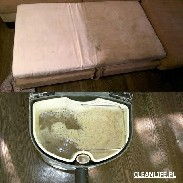 Pranie sofy